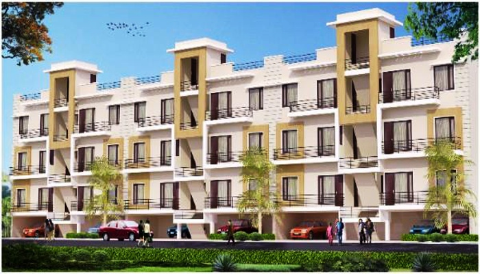 1 BHK Ready To Move Flats in Bliss Homes in Peermuchalla, Zirakpur – Call – 9646000545, 9646000565