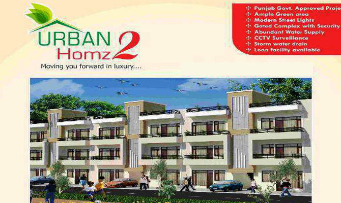 2 BHK Independent Floors in Urban Homz 2, Near Kharar Bus Stand, Kharar, SAS Nagar Mohali – Call – 9646000545, 9646000565