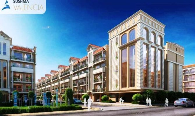 Sushma Valencia Zirakpur – Call – 9290000454, 9290000458 I 3 BHK Independent Floors at Airport Road Zirakpur