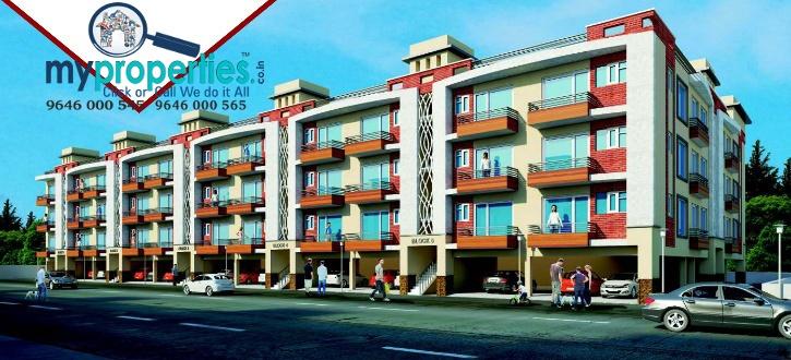 2 BHK & 3 BHK flats in Ananta at Ambala Highway Zirakpur1 - Copy