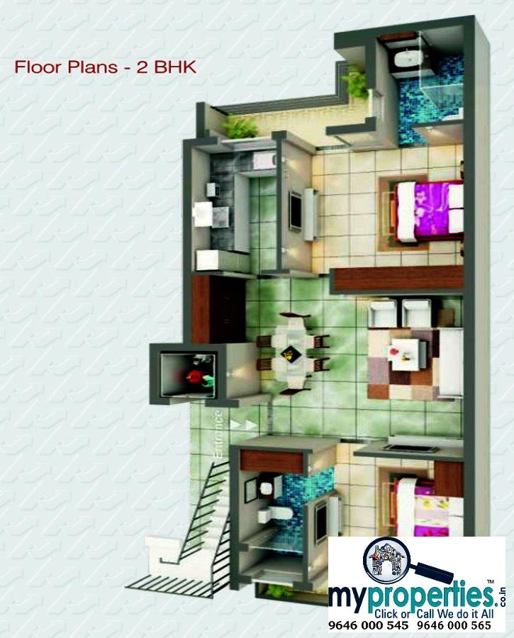 2 BHK & 3 BHK flats in Ananta at Ambala Highway Zirakpur5