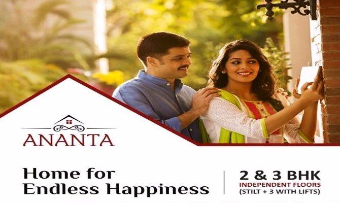 3 BHK & 2 BHK Ready To Move Flats In Ananta Floors on Ambala Highway, Zirakpur – Call – 9290000454, 9290000458