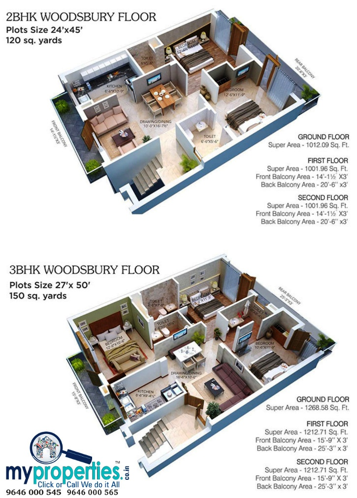 2-bhk-flats-in-gbp-rosewood-estate-derabassi