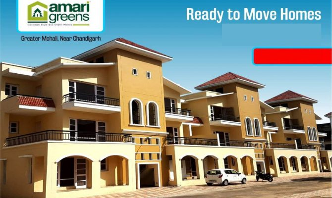 Amari Greens Kharar I 2 BHK Ready To Move Candian Style Flats in Kharar – Call 9290000454, 9290000458