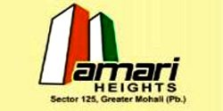 2 BHK Flats at 30.90 Lac in Amari Heights, Sunny Enclave, Sector – 125, Kharar  – Call – 9646000545, 9646000565