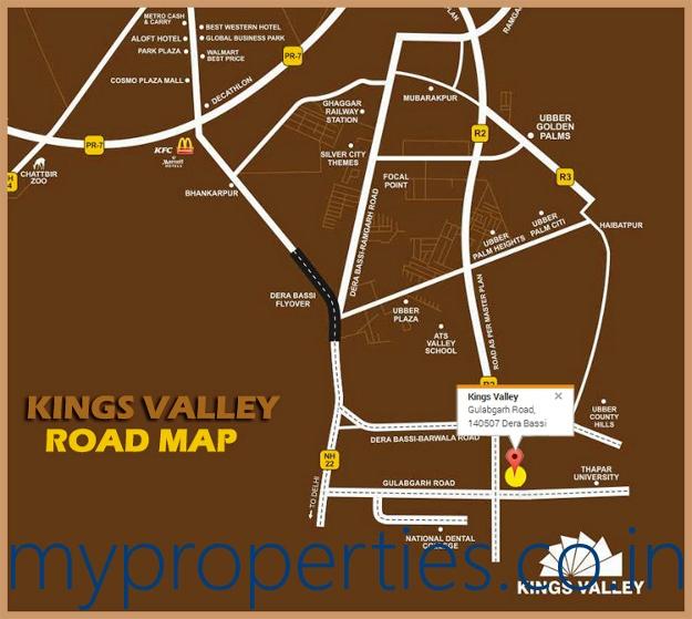 kings-valley-road-map