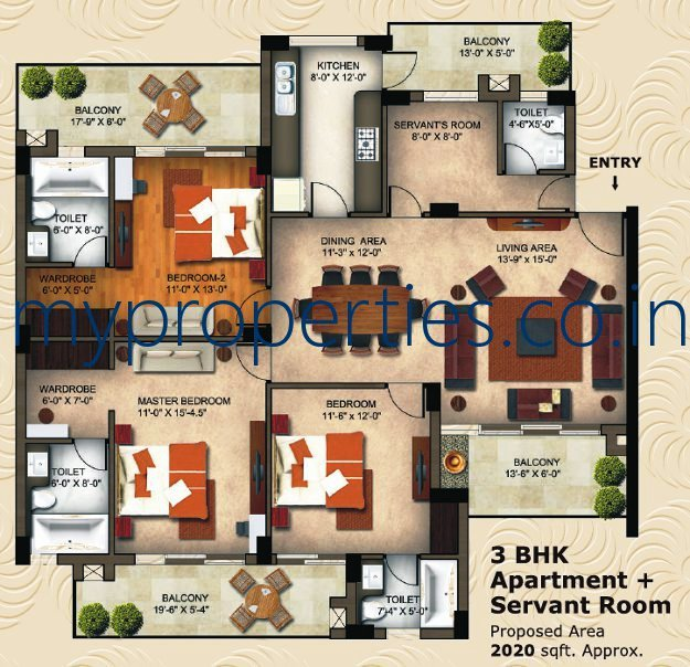 Kothi Construction Services: 1 BHK 2 BHK & 3 BHK Ready To Move Flats In The Eminence