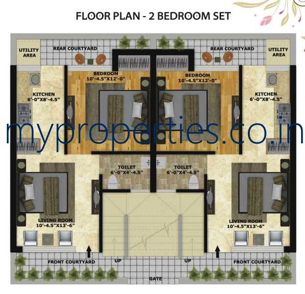 Kothi Construction Services: 1 BHK Flats In Mohali Greens, Sunny Enclave, Sector 125