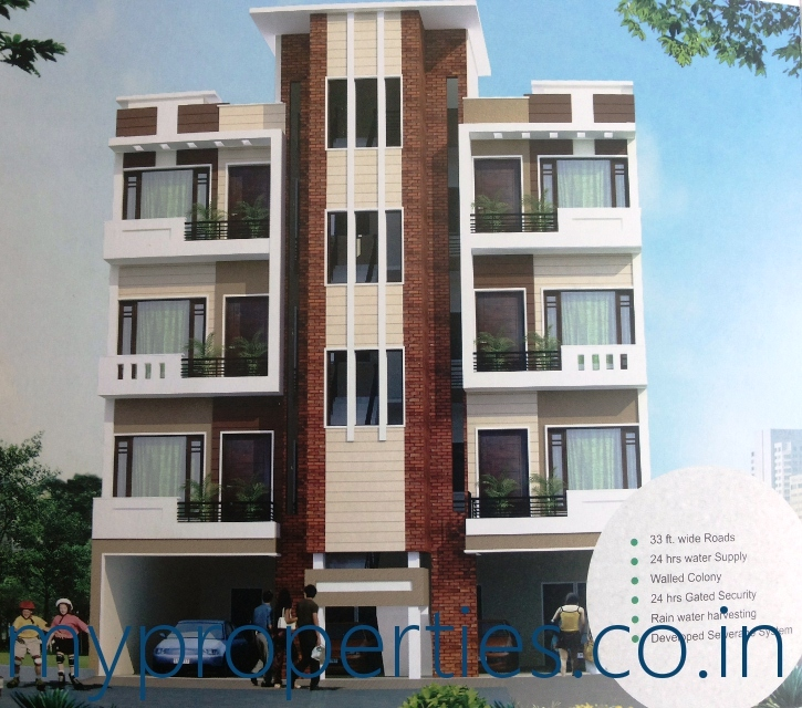 Kothi Construction Services: 2 BHK Flats In Motia Greens, Pabhat Road At Patiala