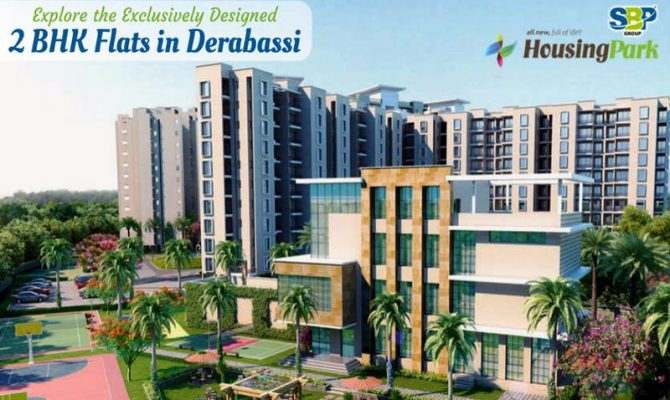 1 BHK & 2 BHK Flats in SBP Housing Park, Chandigarh-Delhi National Highway, Derabassi (Mohali) – Call – 9290000454, 9290000458