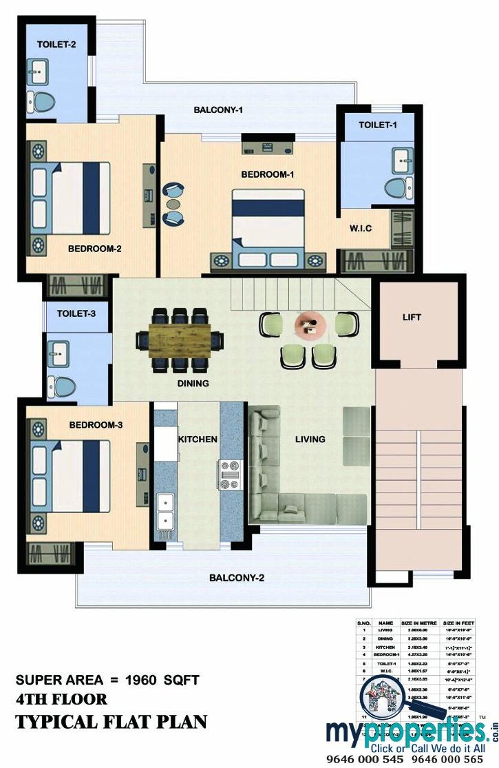3-bhk-flats-in-escon-erena-zirakpur