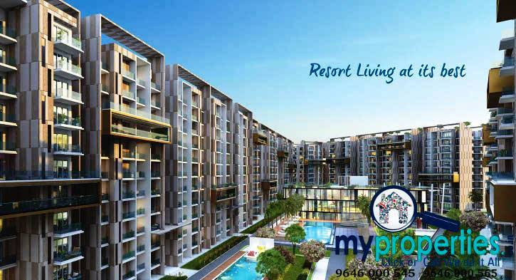 3 bhk flats in gold mark zirakpur
