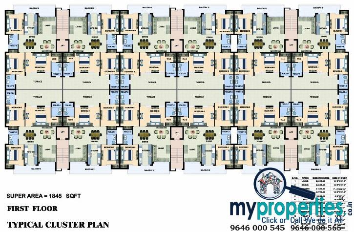 3-bhk-flats-in-venezia-floors-zirakpur