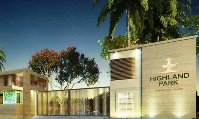 Highland Park Zirakpur – Call – 9290000454, 9290000458 I 3 BHK 4 BHK Ready To Move Flats at Patiala Road Zirakpur