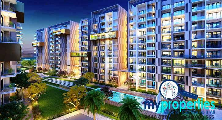 3 bhk super luxury flats in gold mark zirakpur
