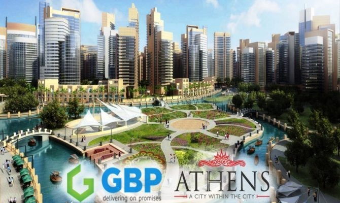 GBP Athens Zirakpur I 2 BHK 3 BHK & 4 BHK Luxury Flats at Airport Road Zirakpur – Call – 9290000454, 9290000458