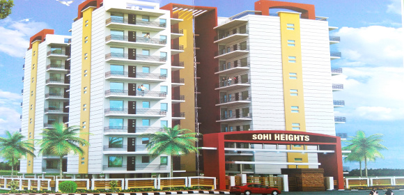 3 BHK Ready To Move Flats in Sohi Heights, Gazipur Road, Zirakpur – Call – 9646000545, 9646000565