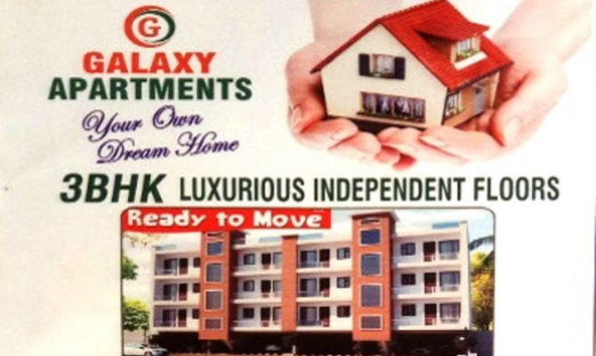 3 BHK Ready To Move Flats in Galaxy Apartments in Motia City at Ambala Road, Zirakpur – Call – 9290000454, 9290000458