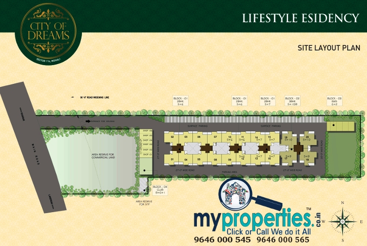 Lifestyle Residency Site plan