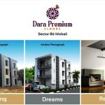 3 BHK Flats in Dara Premium Independent Floors in Sector – 86, Mohali – Call – 9290000454, 9290000458