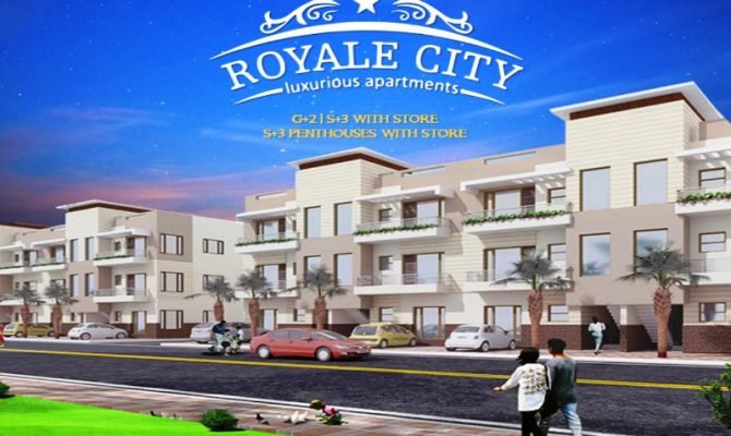 2 BHK 3 BHK Ready To Move Flats in Royale City Zirakpur – Call 9290000454 – 9290000458