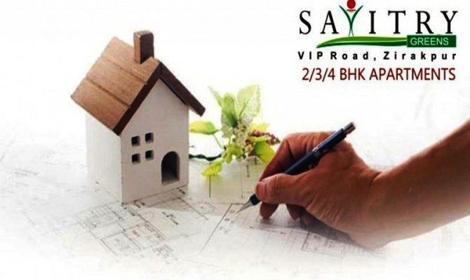 2 BHK, 3 BHK & 4 BHK Ready To Move Flats in Savitry Greens, VIP Road, Zirakpur – Call Us – 9290000454, 9290000458