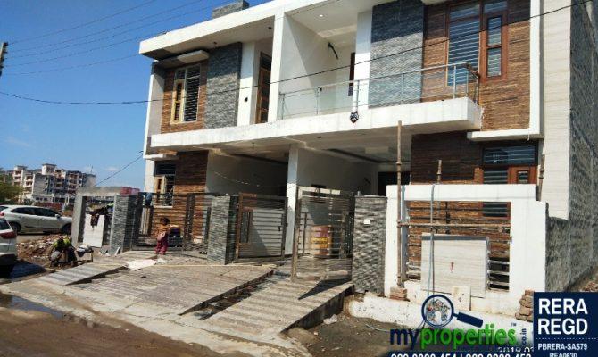 Duplex For Sale in Zirakpur – Call – 9290000454, 9290000458 I 115 Sq Yards Kothi in Swastik Vihar Zirakpur