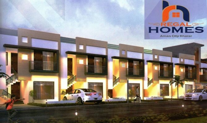 3 BHK Independent Kothi in Regal Homes Aman City Kharar – Call – 9290000458, 9290000458