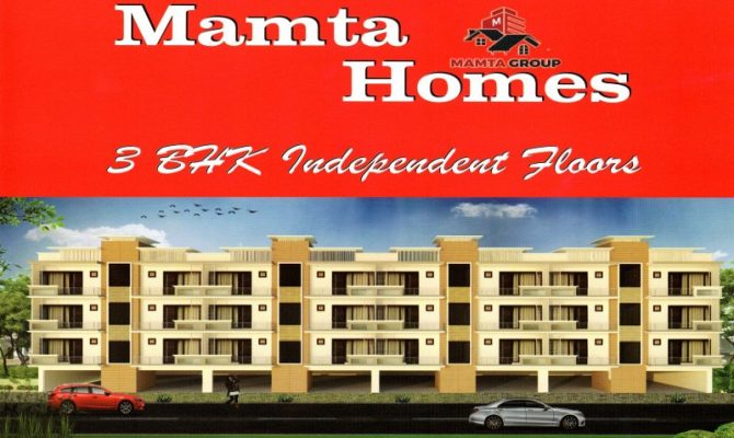 3 BHK Ready To Move Flats in Zirakpur in Mamta Homes at VIP Road – Call – 9290000454, 9290000458