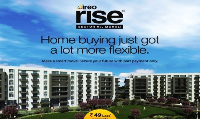 2 BHK & 3 BHK Ready To Move Flats in Ireo Rise, Sector 99, Mohali – Call Us – 9290000454, 9290000458