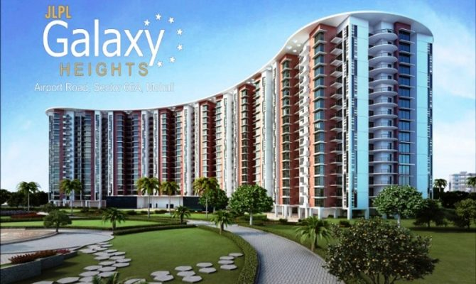 JLPL Galaxy Heights 2 Mohali I 2 BHK Flats at Airport Road Sector 66 Mohali – Call Us- 9290000454, 9290000458