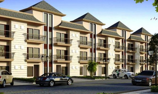 2 BHK Flats (Independent Floor) in GBP Eco Homes, Barwala Road, Derabassi – Mohali – Call – 9290000454, 9290000458