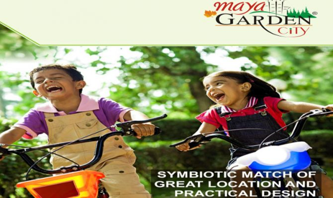 1 2 3 4 5 & 6 BHK Ready To Move Flats in Maya Garden City Ambala Highway Zirakpur – Call – 9290000454, 9290000458