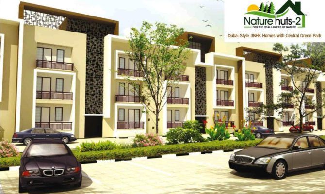 Nature Huts 2 Kharar I 3 BHK Ready To Move Flats in Nirwana Greens Kharar – Call – 9290000454, 9290000458
