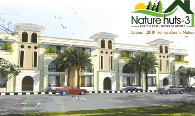 Nature Huts 3 Kharar – Call – 9290000454, 9290000458 I 2 BHK Flats at 22.90 Lac in Nature Hut 3 Nirwana Greens Kharar