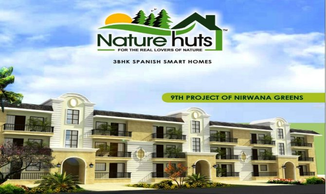 Nature Hut Kharar I 3 BHK Spanish Homes in Nirwana Greens Kharar – Call Us – 9290000454, 9290000458