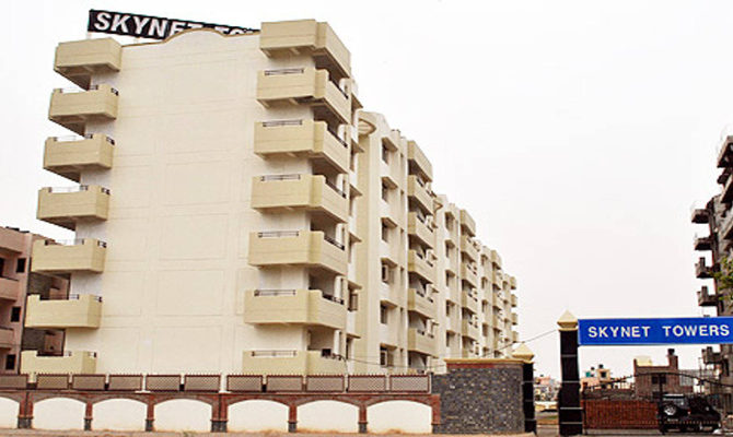 3 BHK Ready To Move Flat in Skynet Towers, Patiala Road, Zirakpur (Mohali) – Call – 9646000545, 9646000565