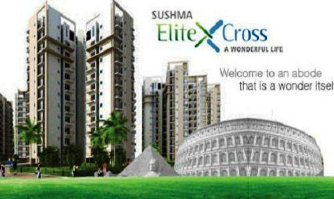 3 BHK Ready To Move Flats in Sushma Elite Cross at Old Ambala Road, Zirakpur – Call – 9646000545, 9646000565