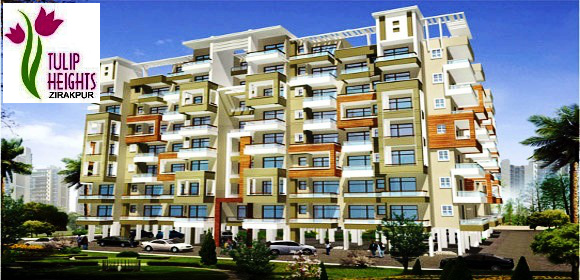 2 BHK Ready To Move Flats in Tulip Heights at VIP Road, Zirakpur – Call – 9646000545, 9646000565