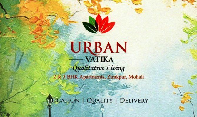 2 BHK & 3 BHK Flats in Urban Vatika at Sunny Enclave Zirakpur – Call – 9290000454, 9290000458
